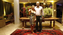 Juíza Larissa Castilho de Silva Farias e o marido Guilherme