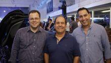 Dr. Alexandre Saldanha, Dr. Antônio Siuf, Dr. Fernando Esgaib