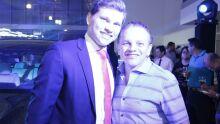 Dr. Gervásio e seu filho Neto
