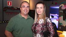 Dany Fabrício e esposa