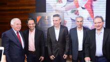 Aldemir Santana, Paulo Corrêa, Reinaldo Azambuja  e Edison Araújo