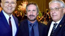 Francisco de Assis, Cleo Brum e Marco Aurélio Garcia
