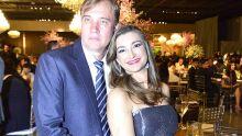 Luciane Kurzawa e esposo Klaus