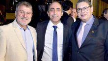 Josceli Pereira, Édio Viegas e Marconiédson Cunha
