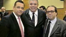 Alexandre Bastos, Carlos Marun e Iran Neves