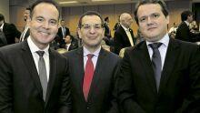 Cláudio Rodrigues Ferreira, Paulo Passos e Alexandre Lacerda