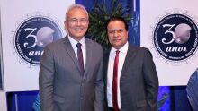 Presidente do Sindifiscal-MS, Franscico Carlos Assis e o ex-presidente do Sindate, Amarildo Cruz