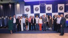 Presidente do Sindifiscal-MS com fiscais de Dourados, Coxim e Campo Grande