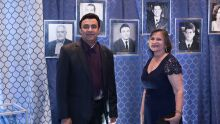 Ex-presidente do Sindifiscal-MS, Antônio Independente, e sua esposa