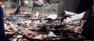 Solidariedade - Família pede ajuda após ter casa destruída por incêndio