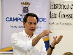 Em busca de recurso, Marquinhos vai a Brasília e apresenta projetos