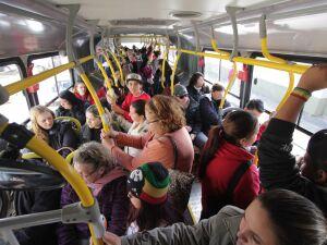 Jovem tem celular furtado ao entrar no ônibus
