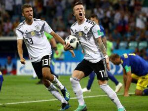 Em jogo dramático, Alemanha vence a Suécia e continua viva na Copa
