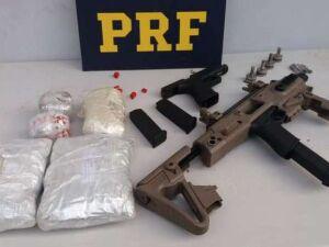 Em ação realizada em todo o país, PRF aprendeu mais de 40 armas de fogo