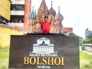 MS tem o primeiro homem a entrar no Balé de Bolshoi