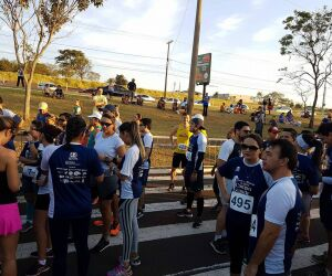 Corredores se concentram para corrida de 118 anos de Campo Grande