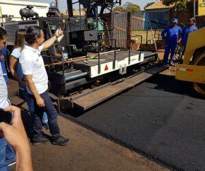 No Nova Lima, Marquinhos retoma obra 'abandonada' por Bernal