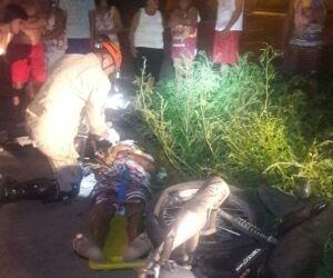 Homem morre após colisão entre duas motocicletas