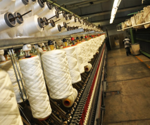 Indústria têxtil registra crescimento de 3,5% em 2017