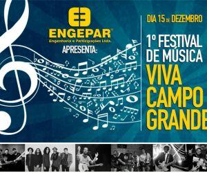 Festival Viva Campo Grande será dia 15