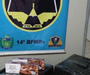 PMR apreende produtos de contrabando