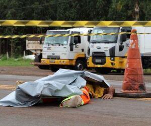 Trabalhador terceirizado da CCR MSVia morre atropelado na BR-163