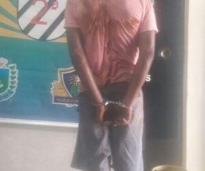 Homem é preso por roubar botijão de gás