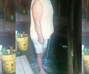 Idosa é encontrada morta pendurada em corda na fronteira