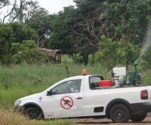 Combate ao Aedes: fumacê percorre nove bairros hoje