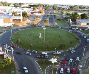 Prefeitura vai instalar semáforos na rotatória da coca cola