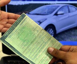 Licenciamento de veículos com placas final 1 e 2 deve ser pago até dia 30