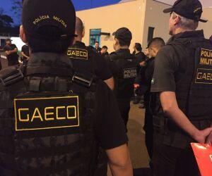 Equipes do Gaeco deflagram operação contra corrupção policial