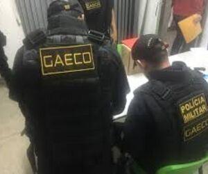 GAECO, BOPE e CHOQUE efetuam prisões contra o PCC