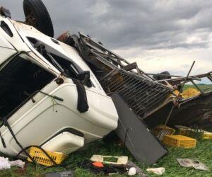 Vídeo: Tornado vira até carros no Rio Grande do Sul