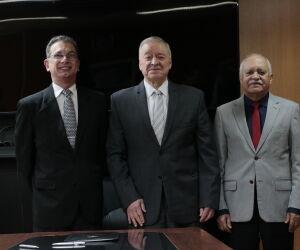 Desembargador Contar toma posse como novo corregedor-geral de Justiça