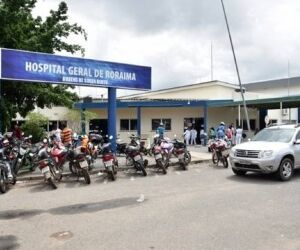 Venezuelana é internada com meningite em hospital de Roraima