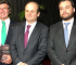 Presidente do TSE Ministro Luiz Fux, Ministro Tarcísio Vieira e Daniel Castro