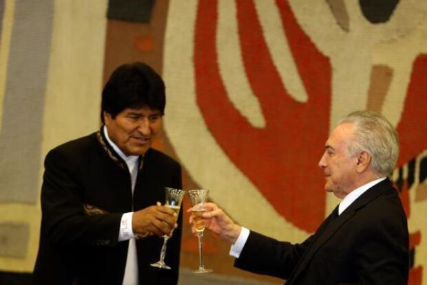 Bolívia quer fornecer energia a estados brasileiros vizinhos