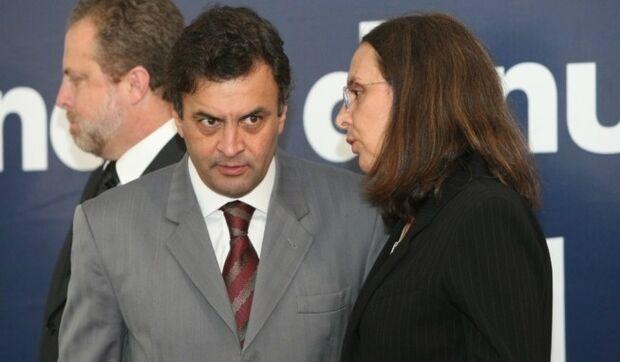 Ministro do STF quebra sigilo bancário de Aécio e Andréa Neves