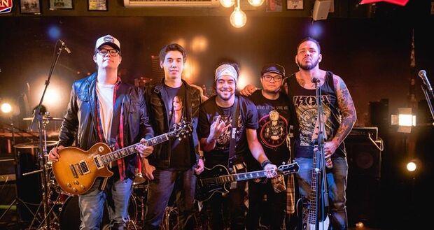 Com tributo a Guns N' Roses e AC/DC, banda Hajj se apresenta no Blues Bar