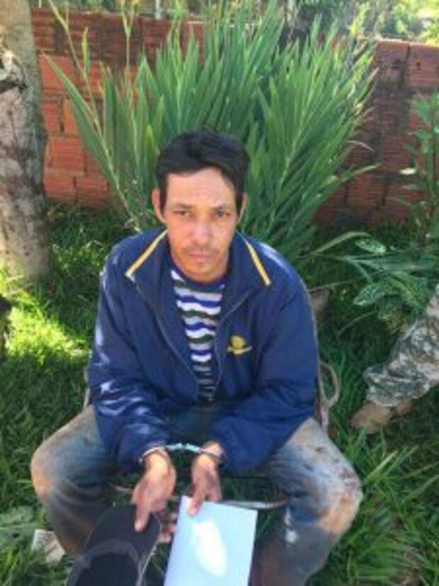 Homem é preso por envolvimento no tráfico de drogas