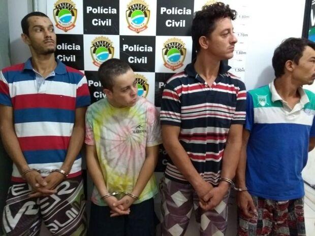 Quadrilha de assaltantes é desarticulada pela polícia