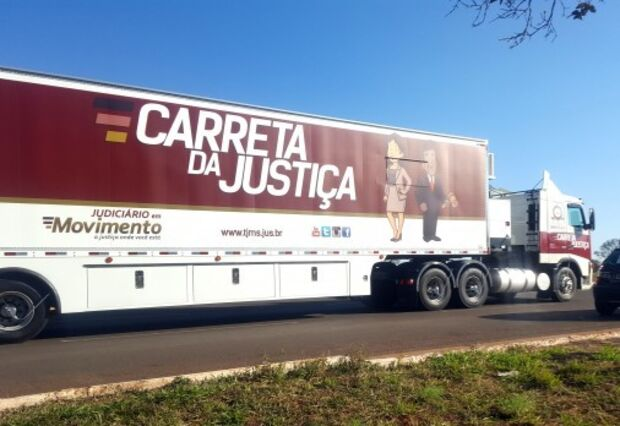 Carreta da Justiça chega a Aral Moreira