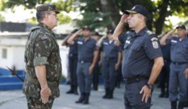 Intervenção começa inspeção nos batalhões da Polícia Militar no Rio