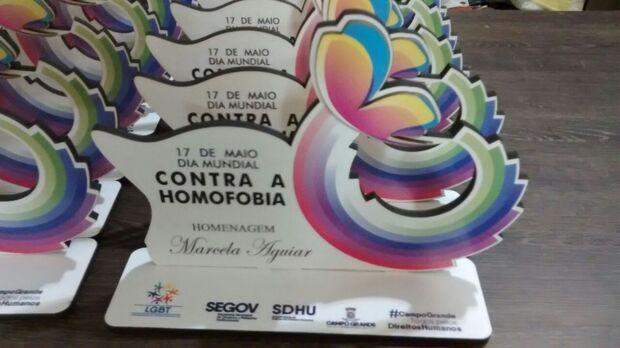 Homenagem marca o Dia de Combate a Homofobia na Capital
