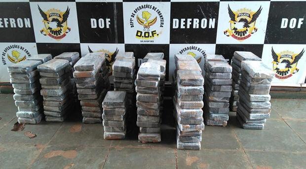 220 quilos de cocaína são apreendidos em rodovia