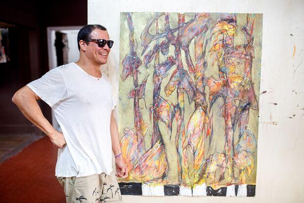 Sesc Cultura da Capital abre as portas com obras de artista plástico sul-mato-grossense