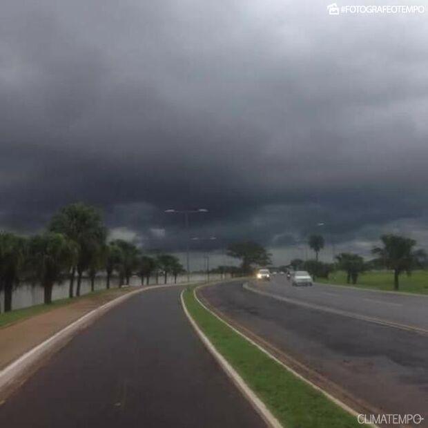 Defesa Civil emite alerta de mal tempo para MS