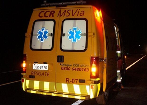 Idoso morre atropelado por carreta na BR-163