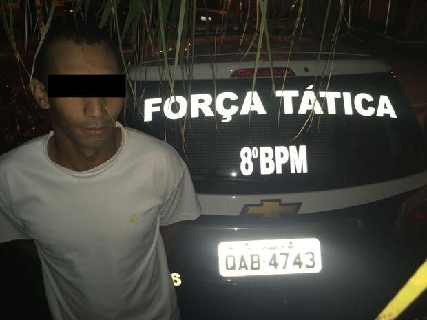 Homem é preso pela Força Tática por homicídio ocorrido em 2012